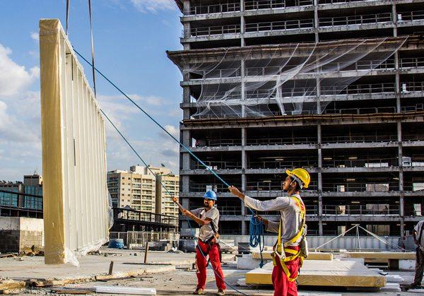 Soluções industrializadas reduzem risco do Covid-19 nos canteiros de obra
